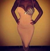 dress,midi dress,top,skirt,midi skirt,nude,diamonds,pearl,silver,v neck dress,white dress,whitr color,white,bodycon dress,bodycon,prom dress,prom,short,short dress,style,homecoming dress,glitter,glitter dress,bling,solid pastel pink,bedazzled breast,tight,thin straps,past knee length,pastel pink