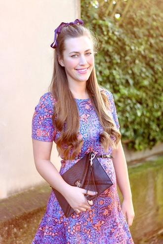 dress skater dress miss guided blogger fashion blogger fashion printed bow clutch beautiful