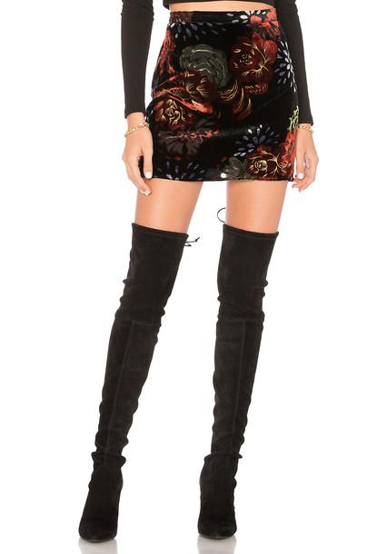 skirt mini skirt mini romantic black