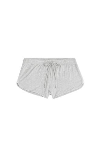 shorts cozy grey