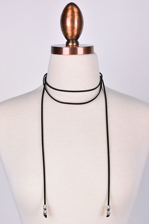 Anoki Suede Wrap Choker Necklace