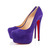 Christian Louboutin Daffodile 160mm Suede Platform Pumps Purple,Discount Louboutins