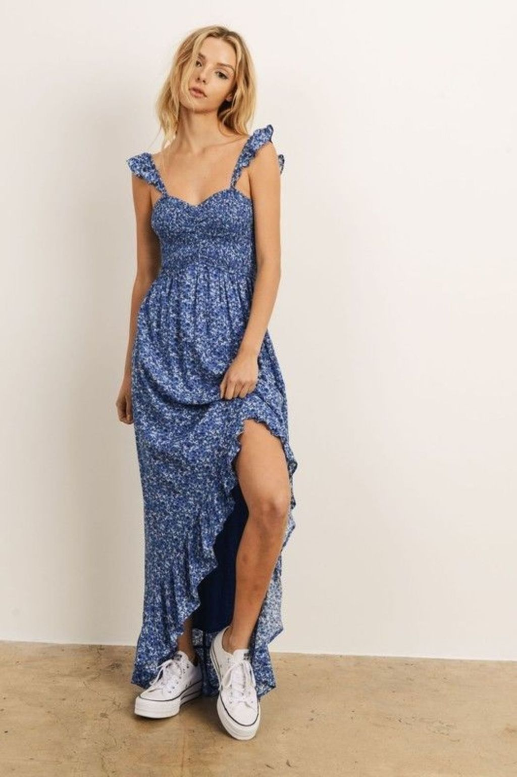 Bluebell Floral Maxi Dress Multi