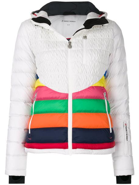 jacket rainbow women white