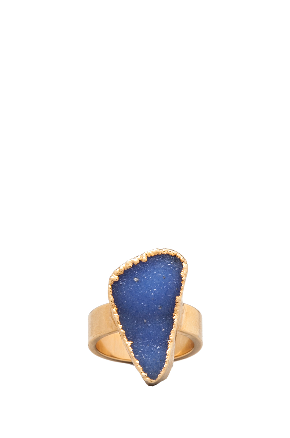 JNB Olivia Stack Ring in Gold | REVOLVE