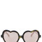 Cutler and gross heart shaped sunglasses