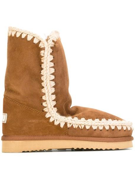 Mou women brown shoes