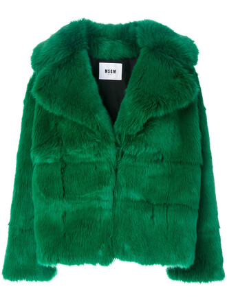 coat women green
