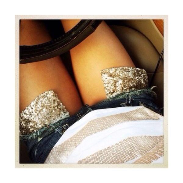 shorts sparkle