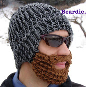 hat,beard,winter outfits,winter hat,warm,funny,funny hat,scarf,vintage,old school