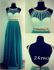 Surprising green sweetheart simple prom dresses, formal dresses