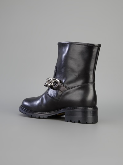 Giuseppe Zanotti Design Chain Detail Bker Boot - Layers - Farfetch.com