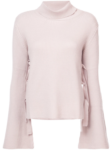 McGuire Denim sweater turtleneck turtleneck sweater women nude