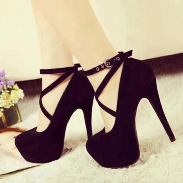 50032f77ce1 shoes black shoes high heels black sued pumps almond toe pumps black  stilettos strap stilettos black