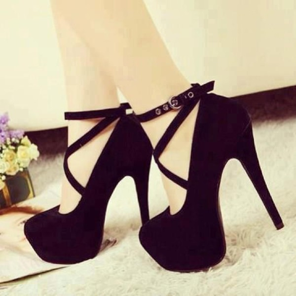 shoes black shoes high heels black black high heels platform high heels strappy black heels black heels black  high heels cute high heels style black pumps strappy heels