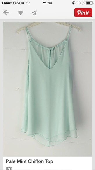 mint green dress blouse