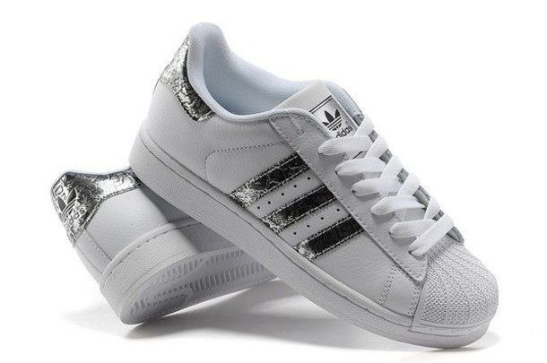 adidas originals superstar silver