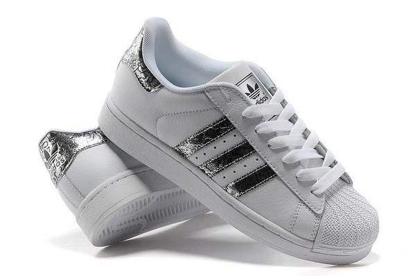 adidas superstar silver snake