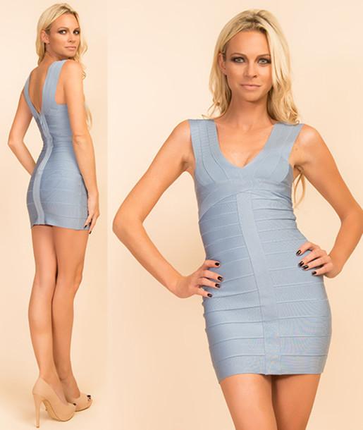 blue dress, bandage dress, bandage dress, bandage kleider, bandage ...