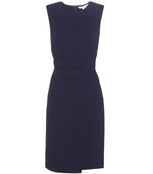 Diane Von Furstenberg dress sleeveless dress sleeveless blue