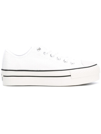 women sneakers platform sneakers white cotton shoes