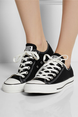 shoes sneakers converse black sneakers