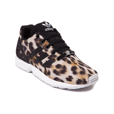 youthtween adidas zx flux athletic shoe multi leopard at journeys shoes. Black Bedroom Furniture Sets. Home Design Ideas
