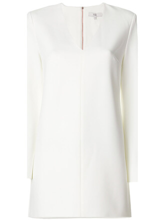 dress women spandex white