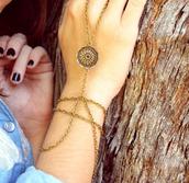 jewels,bracelets,hipster,flowers,dreamcatcher,cute,tumblr