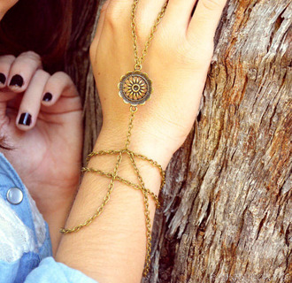 jewels tumblr cute braclets hipster floral dreamcatcher