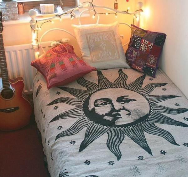 Home Accessory Bedding Boho Bedding Quilt Dorm Room Bedroom Boho Wheretoget