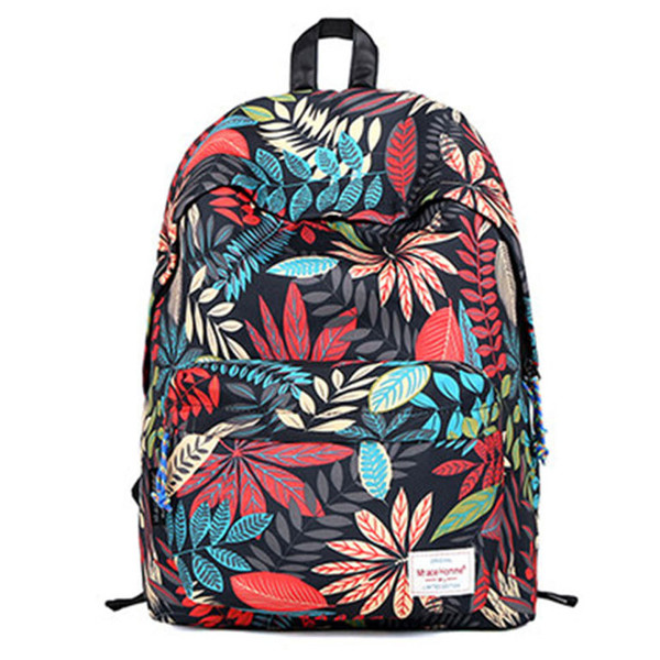 bag backpack tropical