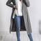 Cloak longline coat