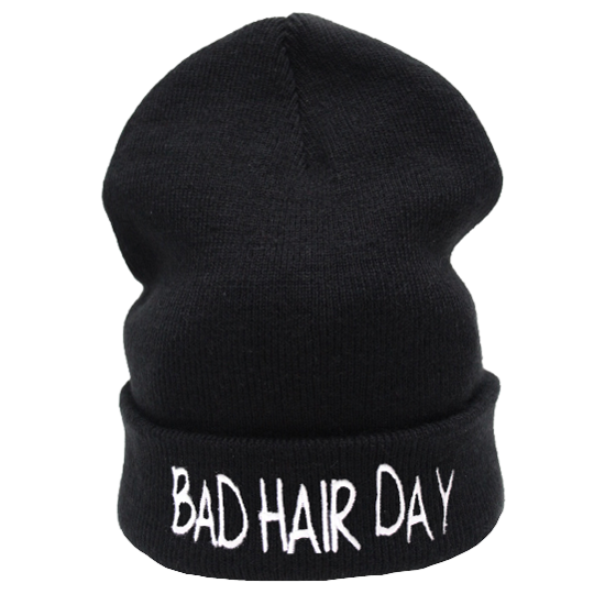 Bad Hair Day Beanie Hat £8.99   Free UK Delivery - #TeeIsland