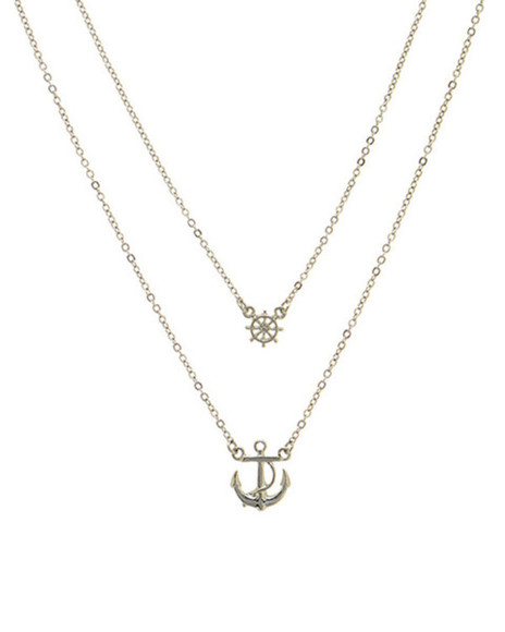 jewels silver anchor