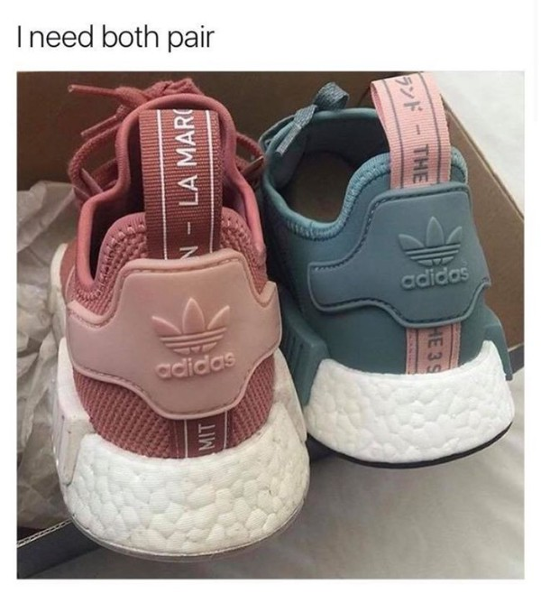 Adidas ISO !! Adidas NMD R1 Raw Pink / Salmon from Alex '