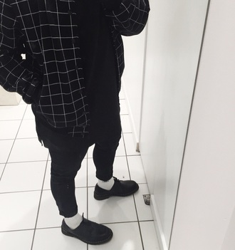 jacket black and white tumblr tumblr jacket
