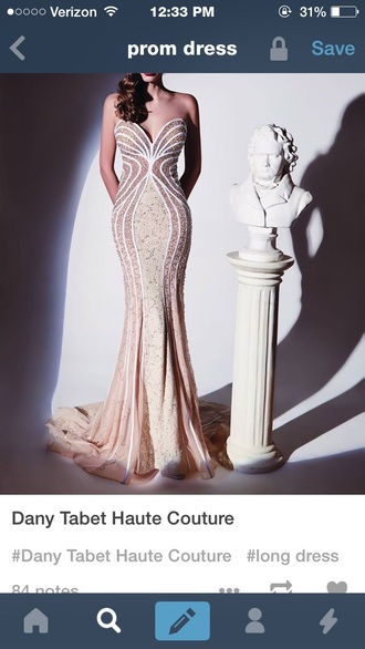 dress prom dresses long prom dress haute couture beaded dress pink dress