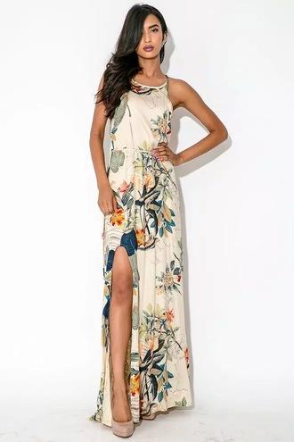 dress print dress maxi dress summer dress