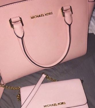 bag pink cute hot michael kors bag black tumblr tumblr clothes michael kors tumblr outfit baby pink light pink