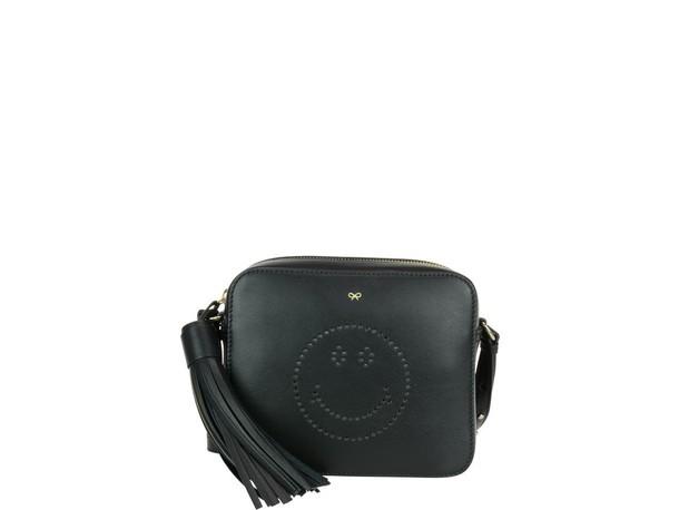 smiley bag black