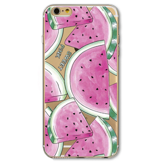 phone cover watermelon print iphone case teenagers summer accessories cool pink boogzel
