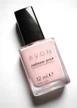 Avon Nailwear pro Nail Enamel Pastel Pink New Boxed