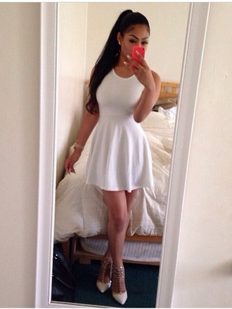 dress white dress dresses kim kardashian dress kim kardashian shoes