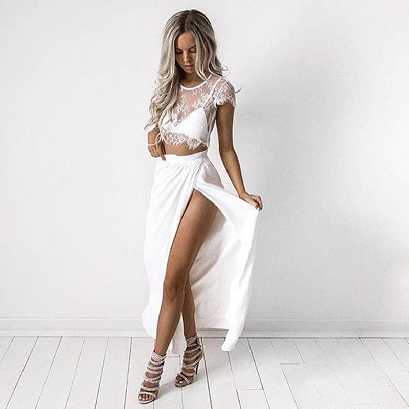 Aliexpress.com : Buy Summer Dress Women 2016 Short Sleeve Lace Sexy Dress Boho Style Party Beach Dress Female Vestidos De Festa Robe Longue Femme from Reliable dress fabrics on line suppliers on Fashion Sunlight