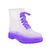New Womens Ladies Festival Wellies Jelly Boots Flat Low Ankle Rain Shoes Size | eBay