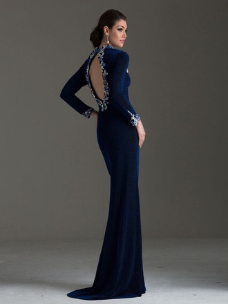 dress royal blue or cobalt velvet