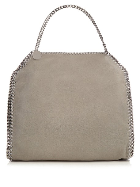 Stella McCartney bag shoulder bag suede light grey
