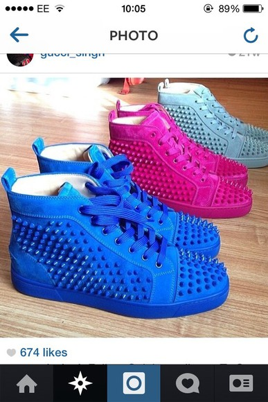 designer shoes spikes sneakers spike sneakers loboutins high top ankle sneakers trainers