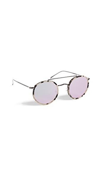 Illesteva sunglasses rose gold rose gold white